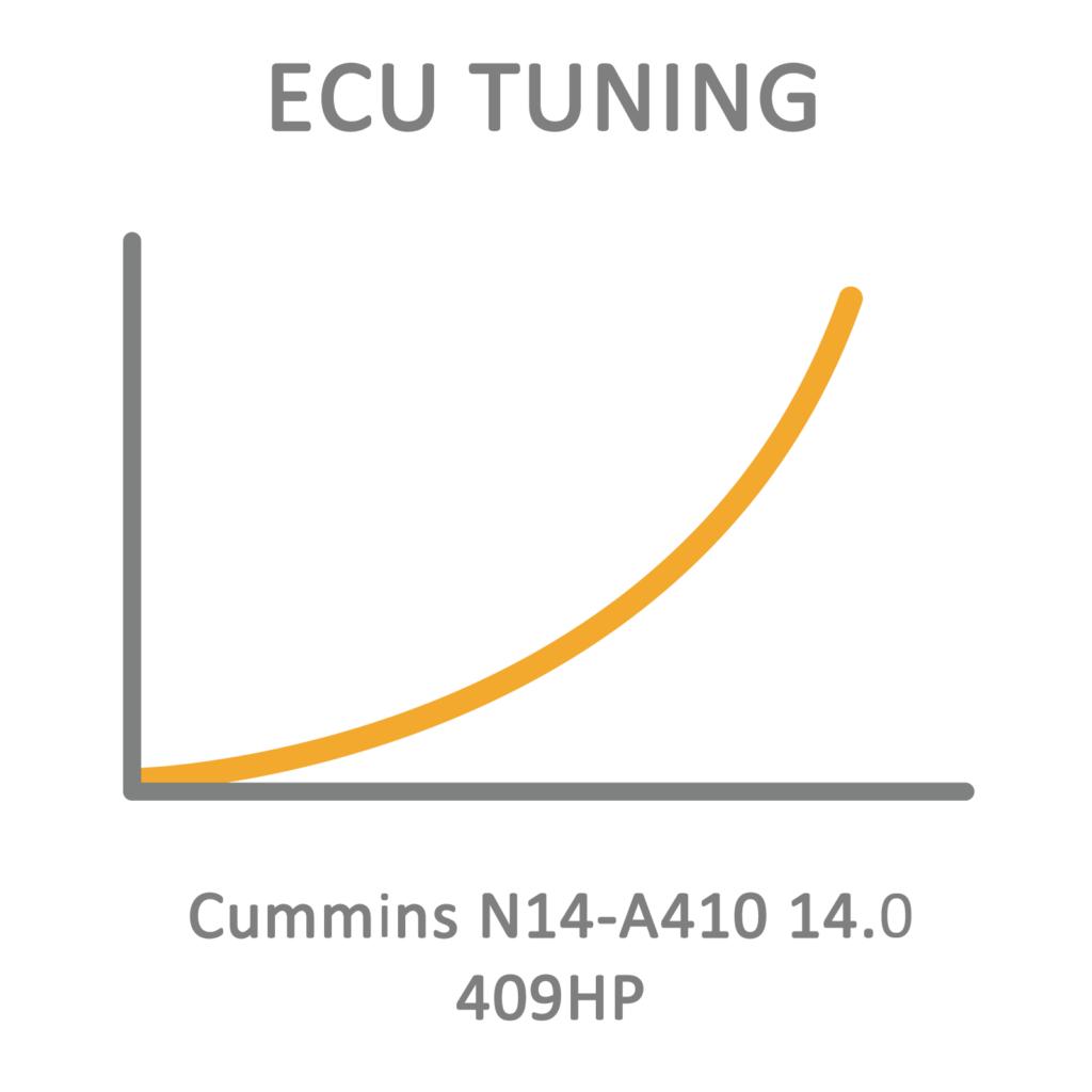 Cummins N14-A410 14 0 409HP ECU Tuning Remapping Programming