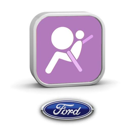 Restablecimiento de datos de bloqueo del módulo de airbag Ford