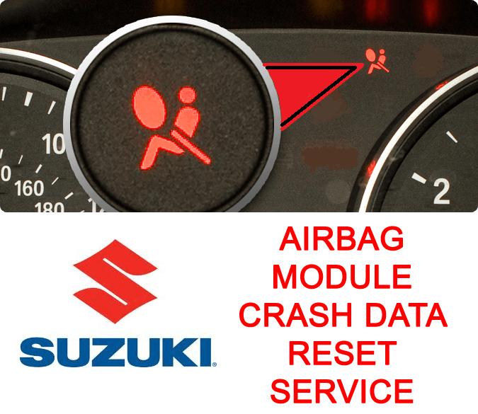 Suzuki airbag module crash data reset