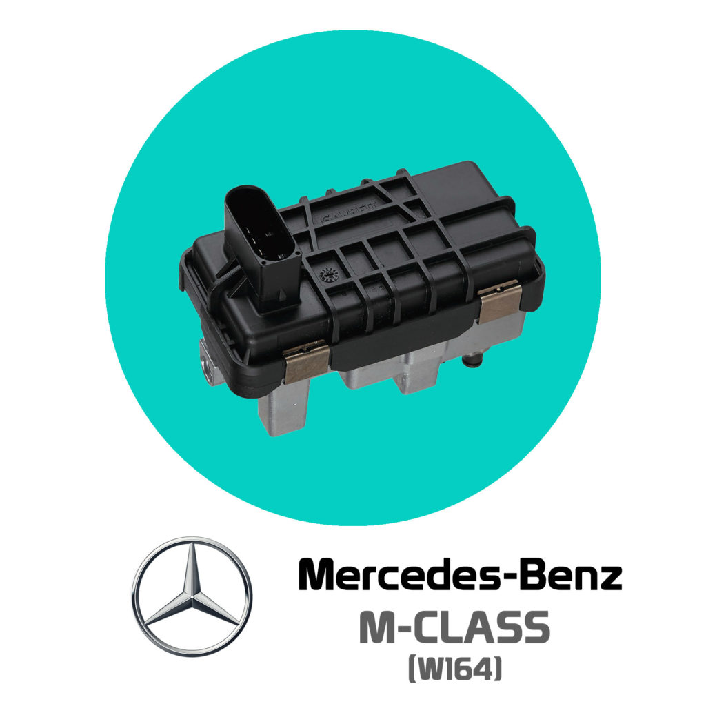 Mercedes-Benz M-Class (W164) Hella Turbo Actuator Repair