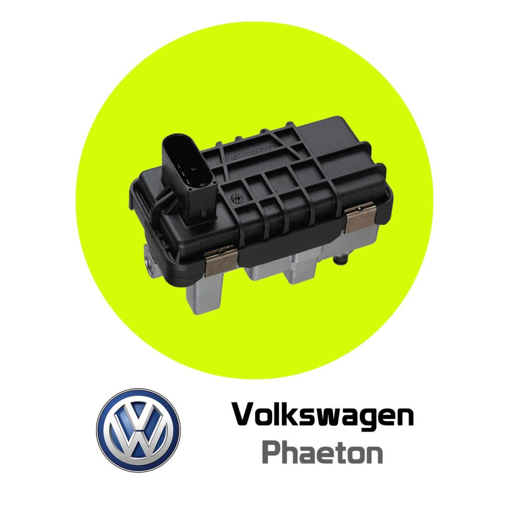 Volkswagen Phaeton Hella Turbo Actuator Repair (Garrett Turbo)